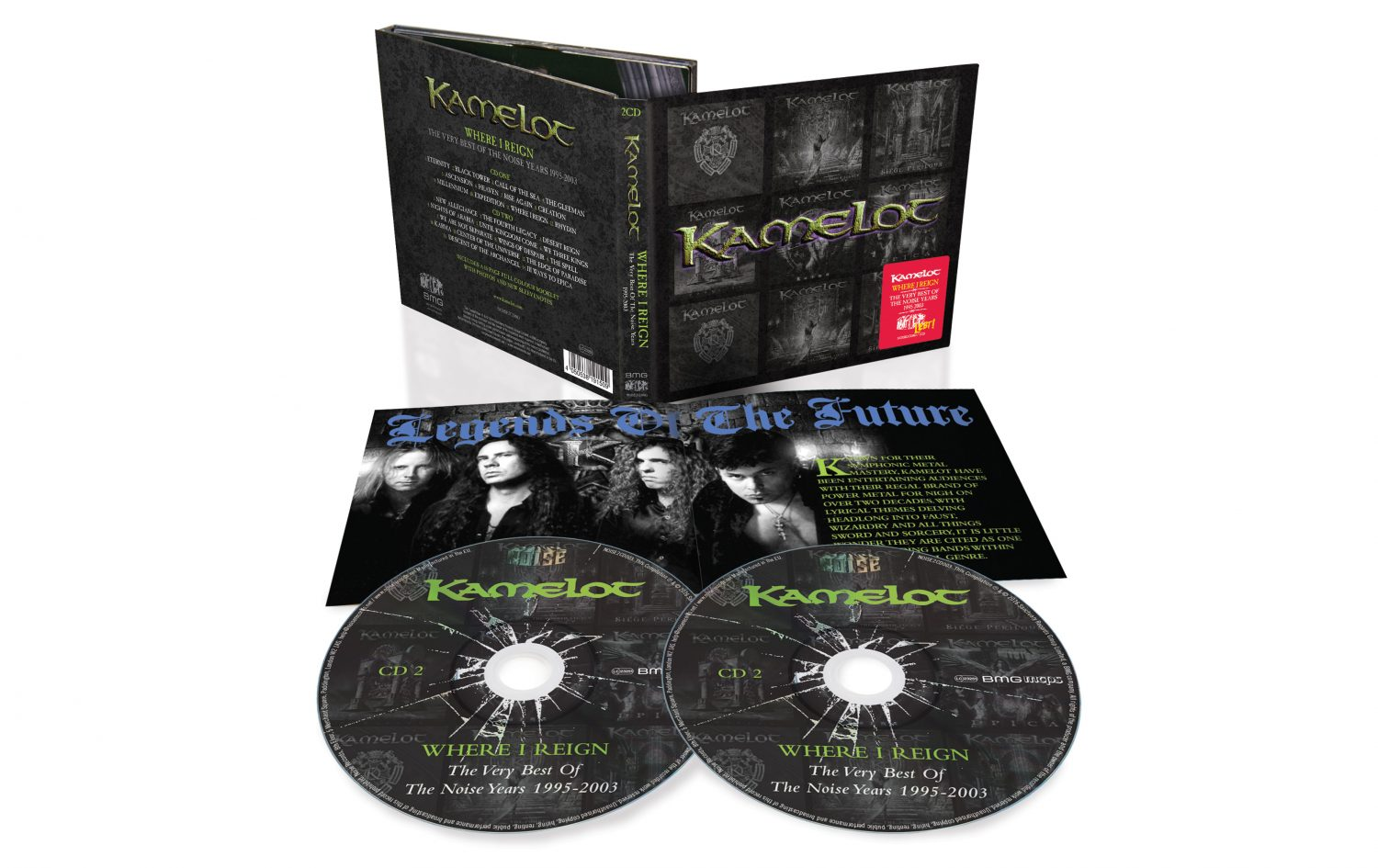 Kamelot Where I Reign Exploded Packshot