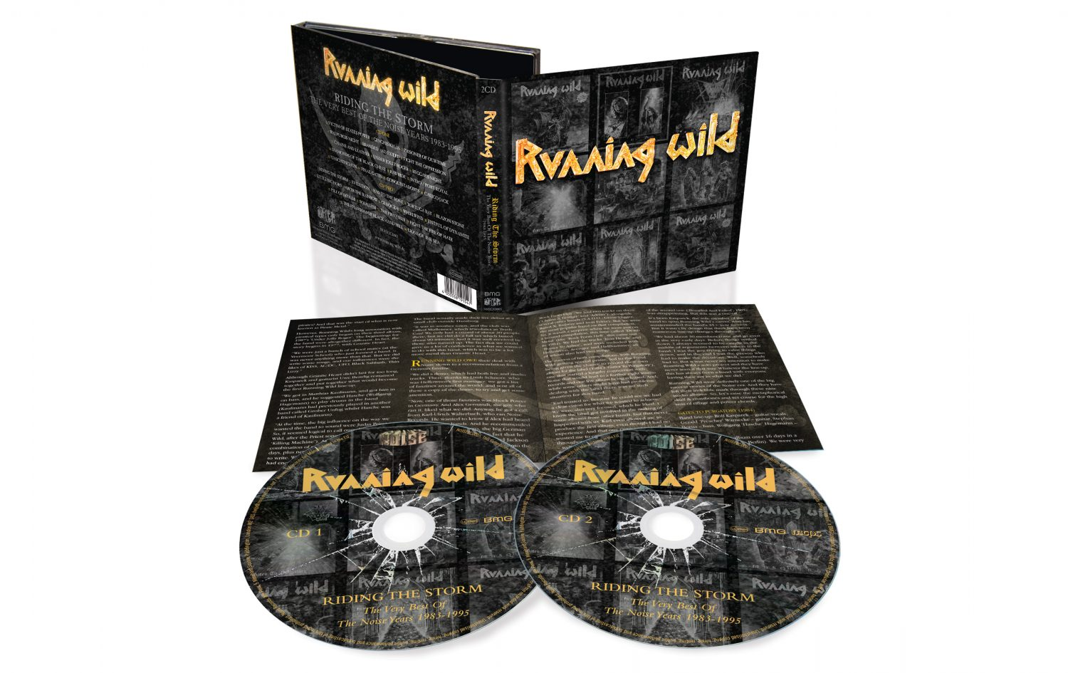 Running Wild Riding The Storm Exploded Packshot