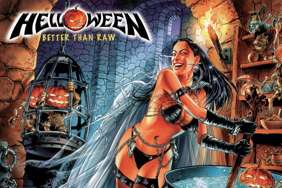 Helloween Better Than Raw