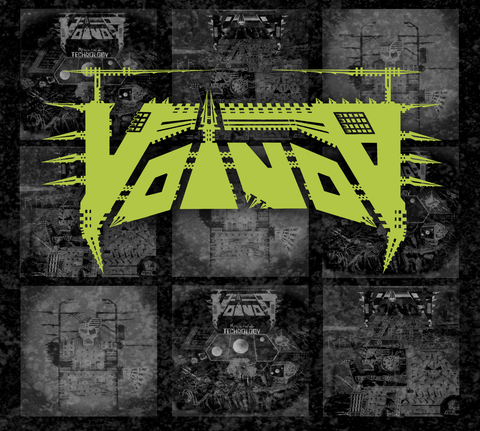 Voivod – Build Your Weapons – The Very Best of The Noise Years 1986-1988 Featured Image