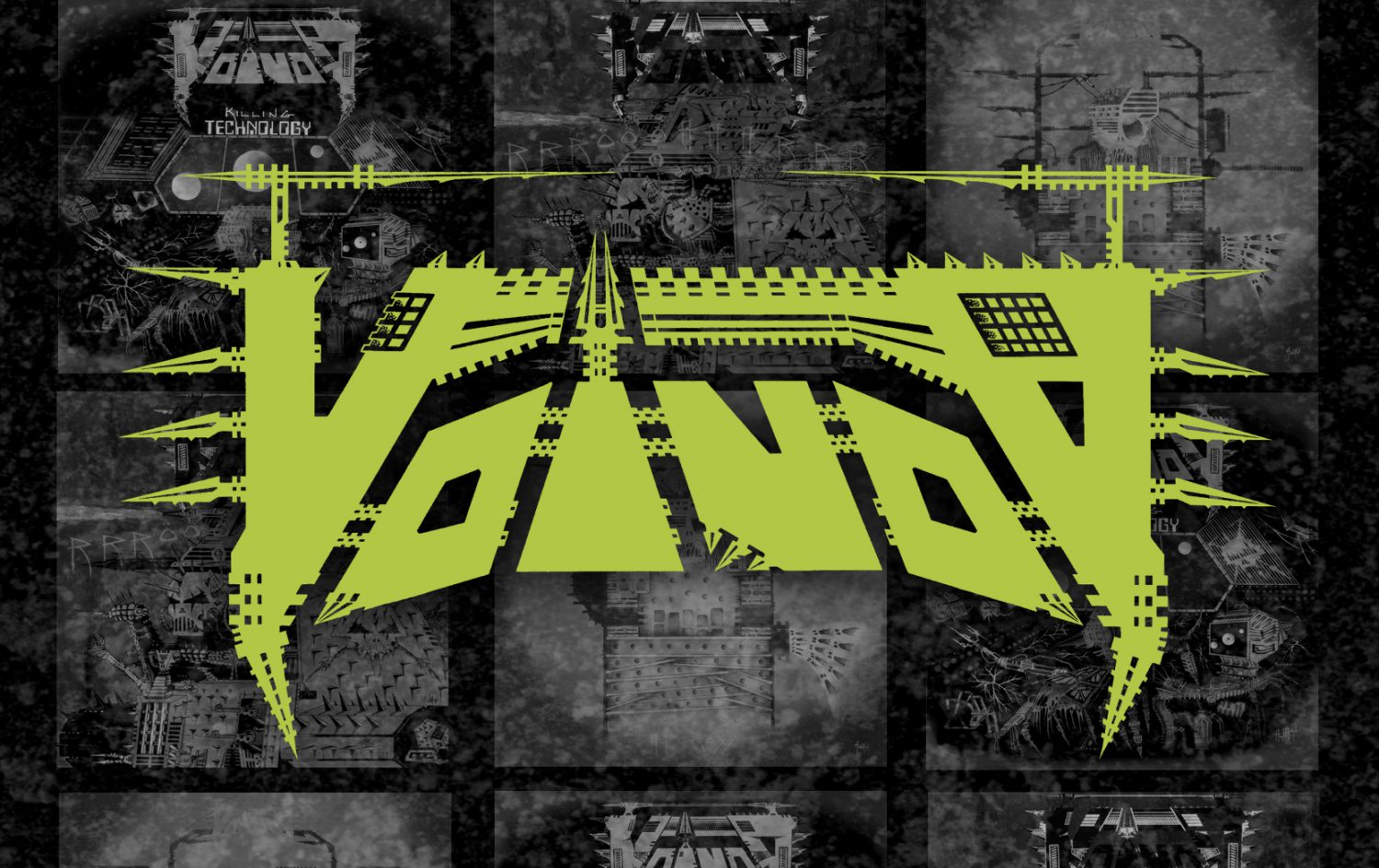 Voivod – Build Your Weapons – The Very Best of The Noise Years 1986-1988 Exploded Packshot