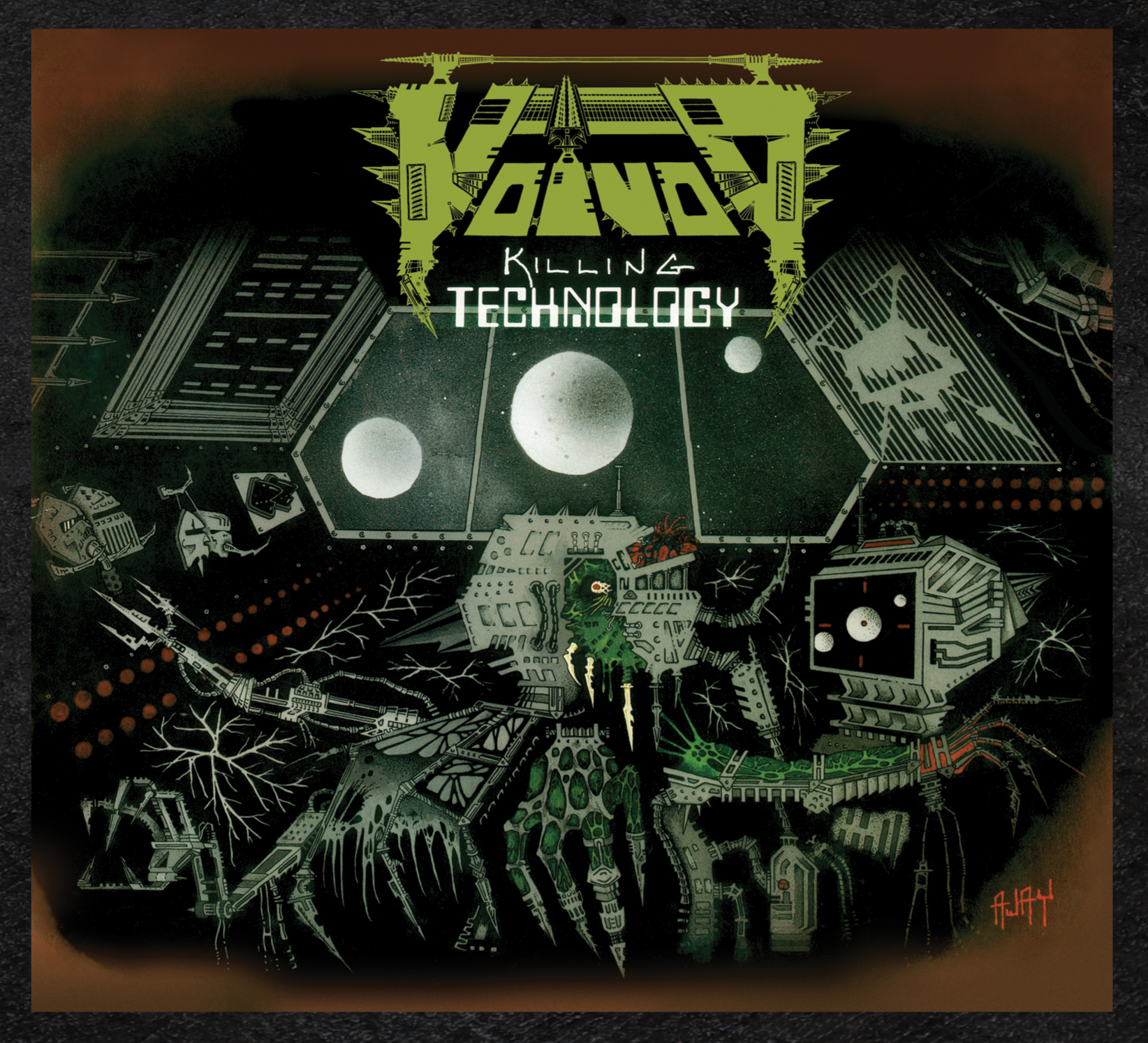 Voivod – Killing Technology Featured Image