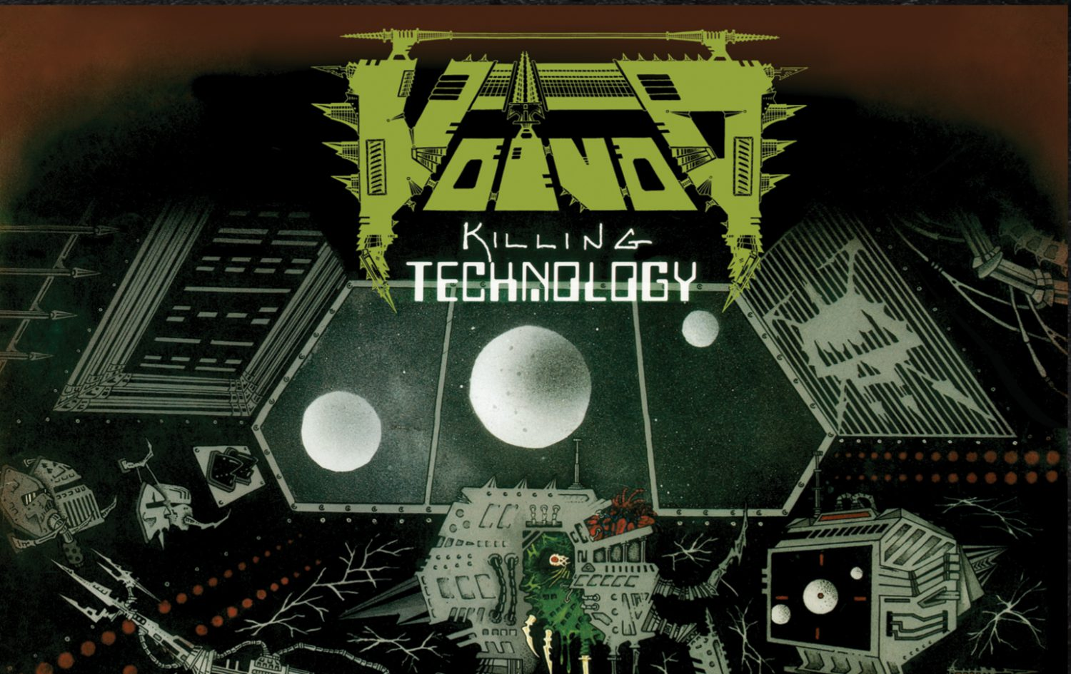 Voivod – Killing Technology Exploded Packshot
